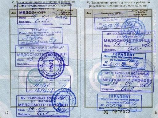 Медкнижки у метро Печатники